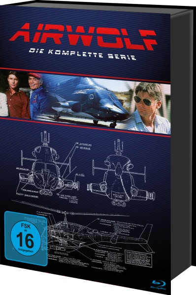 Airwolf - Die komplette Serie [Blu-ray]