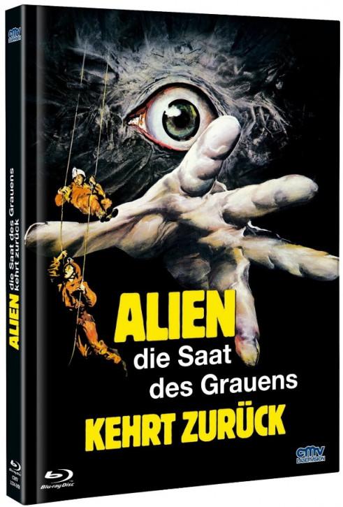 Alien - Die Saat des Grauens kehrt zurück - Mediabook - Cover A [Blu-ray+DVD]