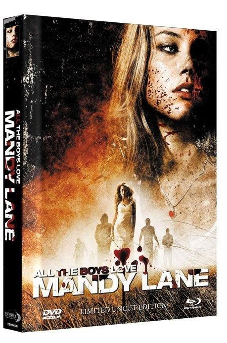 All the Boys Love Mandy Lane - Limited Mediabook Edition - Cover B [Blu-ray+DVD]