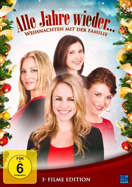 Alle Jahre wieder - Weihnachten mit der Familie 3 Filme Edition [DVD]