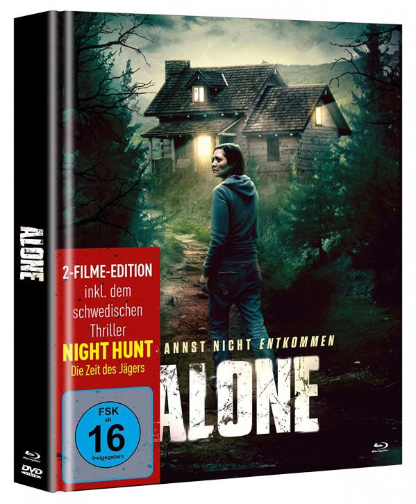 Alone - Du kannst nicht entkommen - Limited Mediabook [Blu-ray+DVD]