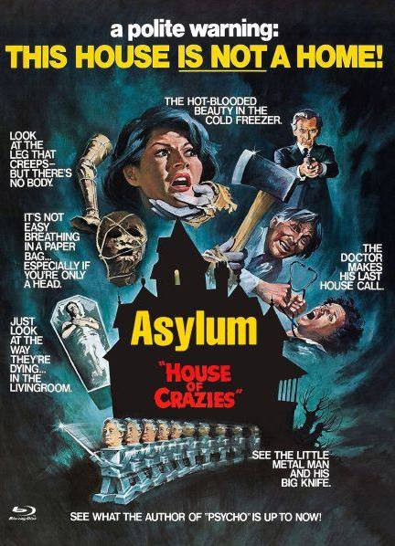 Asylum - Euro Cult Collection #53 - Mediabook - Cover E [Blu-ray+DVD]