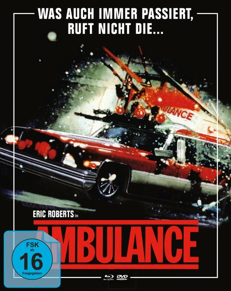 Ambulance - Limited Mediabook Edition - Cover B [Blu-ray+DVD]