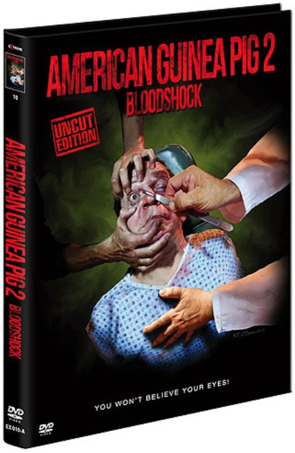 American Guinea Pig 2 - Bloodshock - Limited Mediabook - Cover A [DVD]