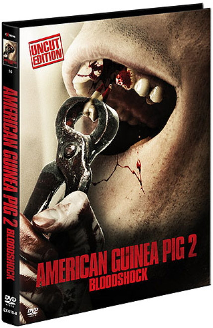 American Guinea Pig 2 - Bloodshock - Limited Mediabook - Cover B [DVD]