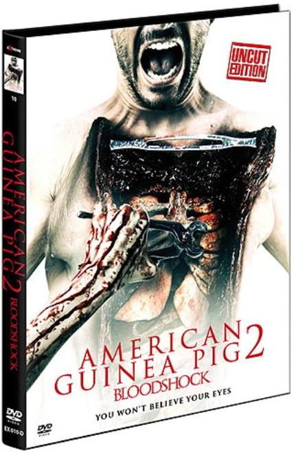 American Guinea Pig 2 - Bloodshock - Limited Mediabook - Cover D [DVD]