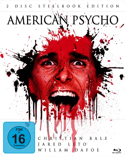 American Psycho (Steelbook) [Blu-ray+DVD]