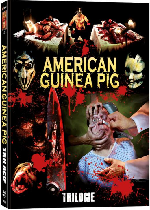 American Guinea Pig 1-3 Trilogie - Mediabook [DVD]