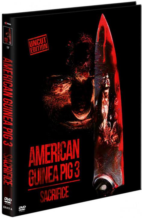 American Guinea Pig 3 - Sacrifice - Limited Mediabook - Cover A [DVD]