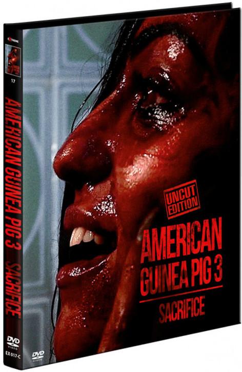 American Guinea Pig 3 - Sacrifice - Limited Mediabook - Cover C [DVD]