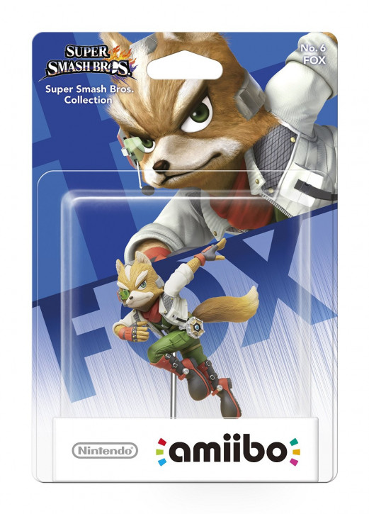 amiibo - Super Smash Bros. - Fox