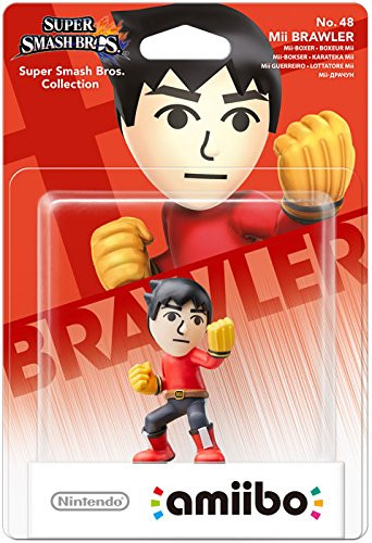 amiibo - Super Smash Bros. - Mii Brawler