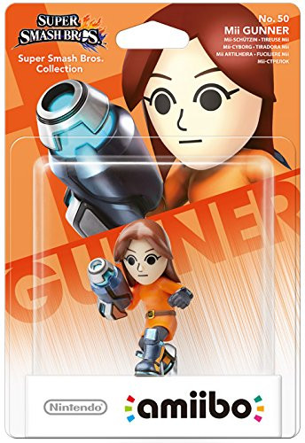 amiibo - Super Smash Bros. - Mii Gunner