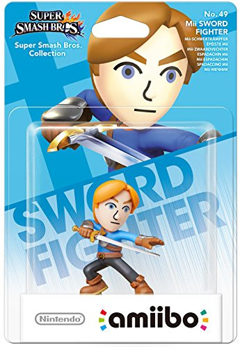 amiibo - Super Smash Bros. - Mii Sword