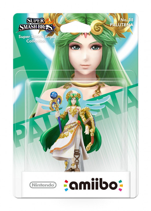 amiibo - Super Smash Bros. - Palutena