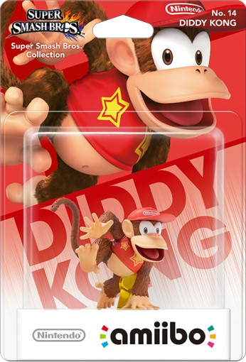 amiibo - Super Smash Bros. - Diddy Kong