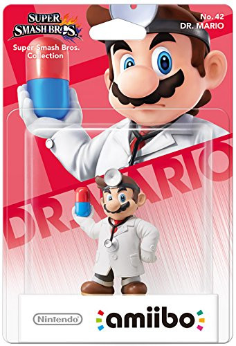 amiibo - Super Smash Bros. - Dr. Mario