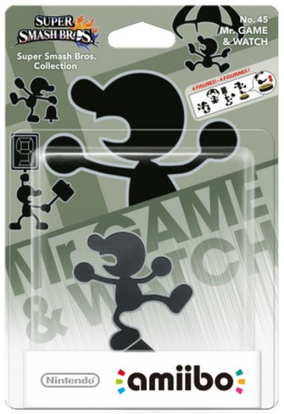 amiibo - Super Smash Bros. -  Mr. Game & Watch