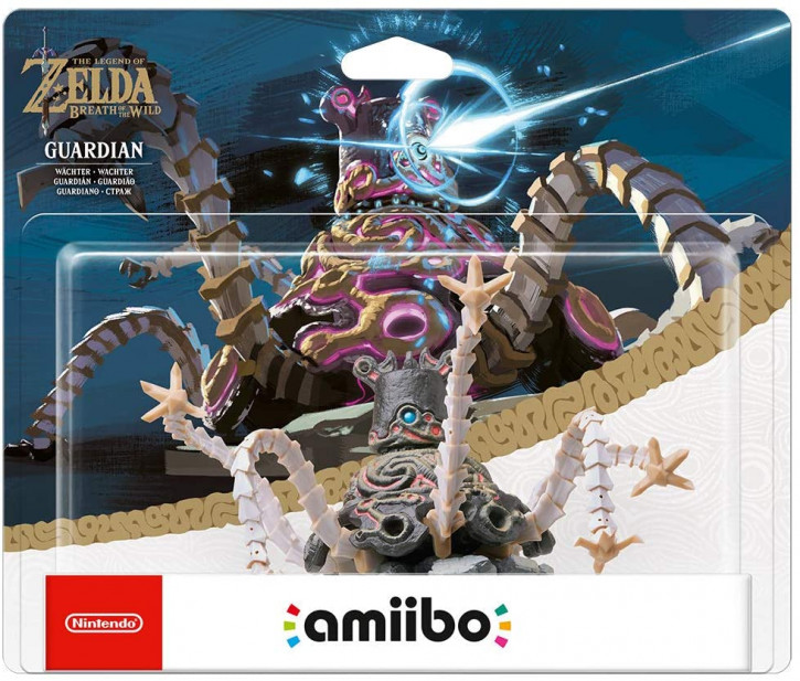 amiibo - The Legend of Zelda: Breath of the Wild - Guardian