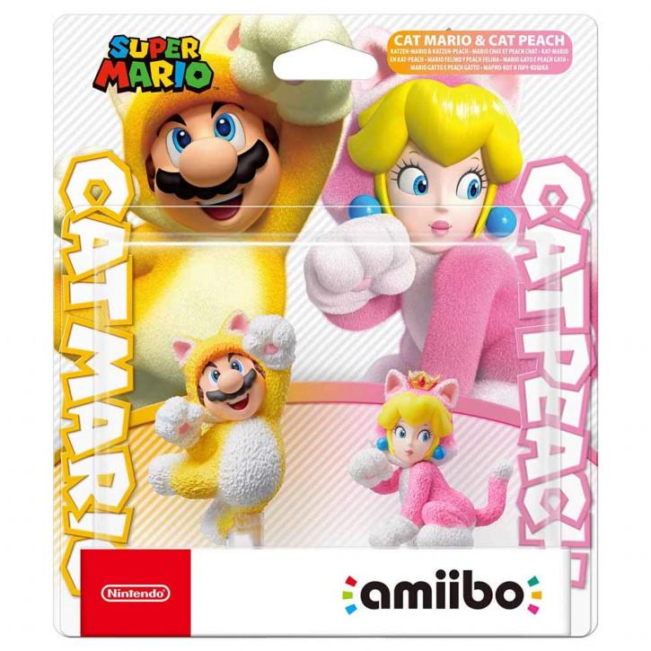 amiibo - Super Mario - Katzen-Mario und Katzen-Peach