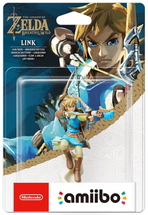 amiibo - The Legend of Zelda: Breath of the Wild - Link