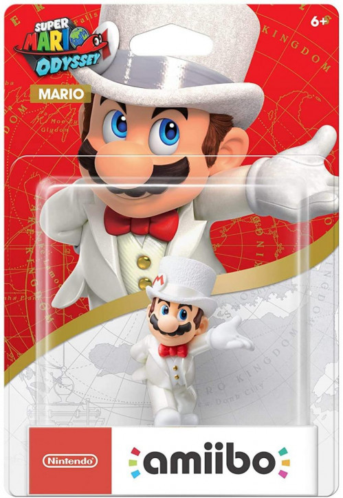 amiibo - Super Mario Odyssey - Mario