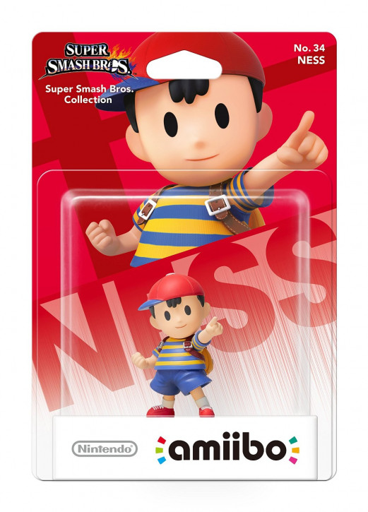 amiibo - Super Smash Bros. -  Ness