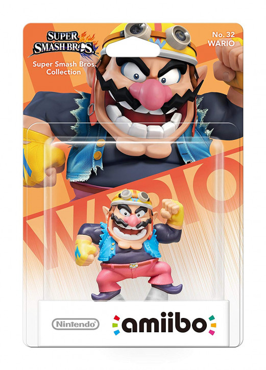 amiibo - Super Smash Bros. - Wario