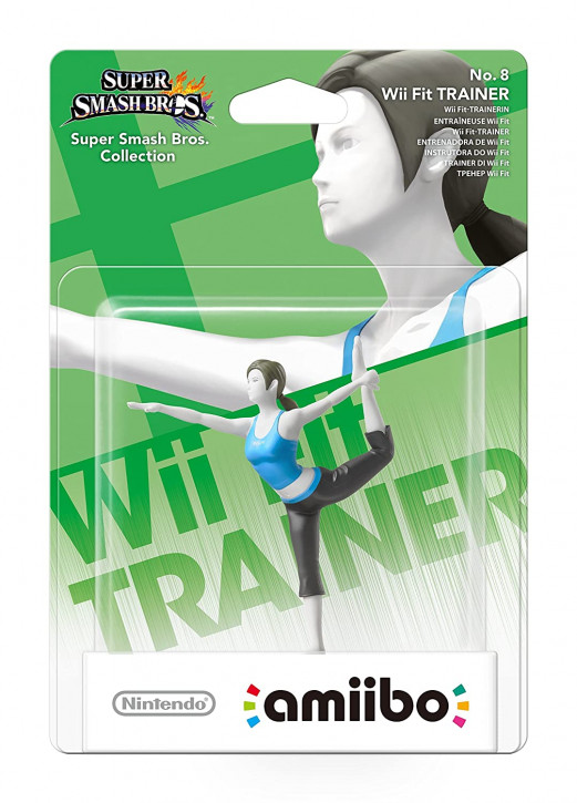 amiibo - Super Smash Bros. - Wii Fit Trainer