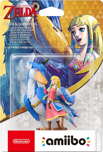 amiibo - Zelda Skyward Sword - Zelda & Wolkenvogel