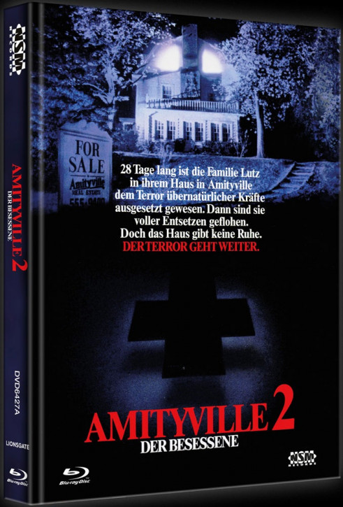Amityville 2 - Limited Collector's Edition - Cover A [Blu-ray+DVD]