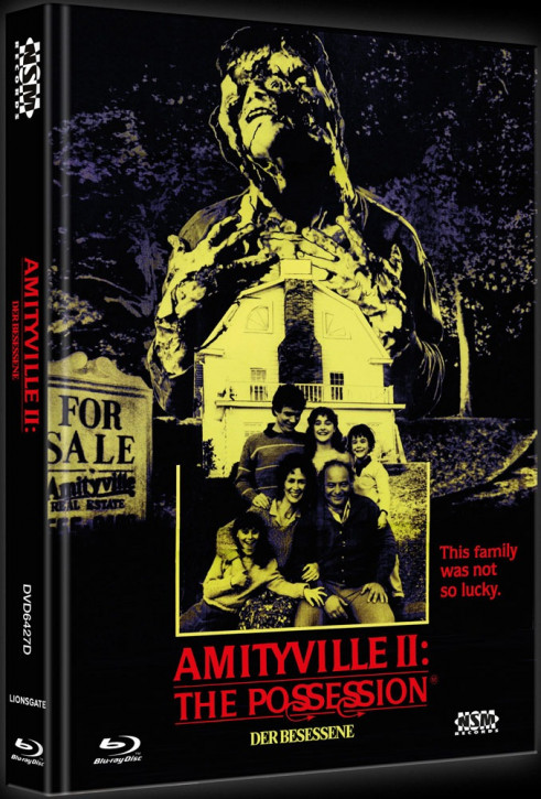 Amityville 2 - Limited Collector's Edition - Cover D [Blu-ray+DVD]