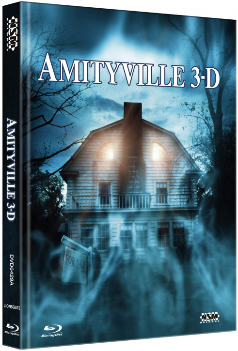 Amityville 3 - Limited Collector's Edition - Cover A [Blu-ray+DVD]