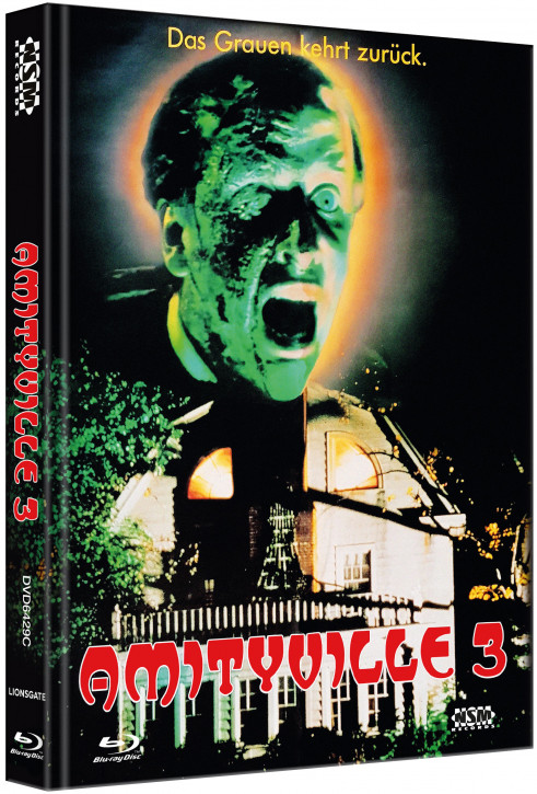 Amityville 3 - Limited Collector's Edition - Cover C [Blu-ray+DVD]