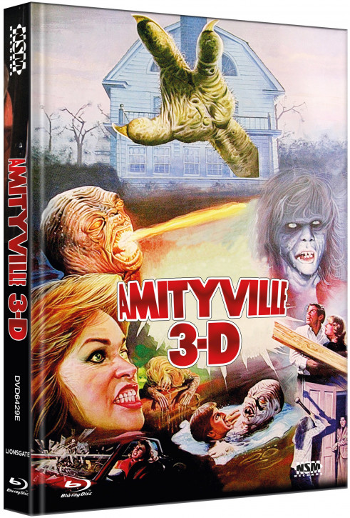 Amityville 3 - Limited Collector's Edition - Cover E [Blu-ray+DVD]