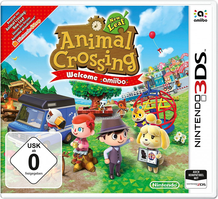 Animal Crossing: New Leaf - Welcome amiibo [N3DS]