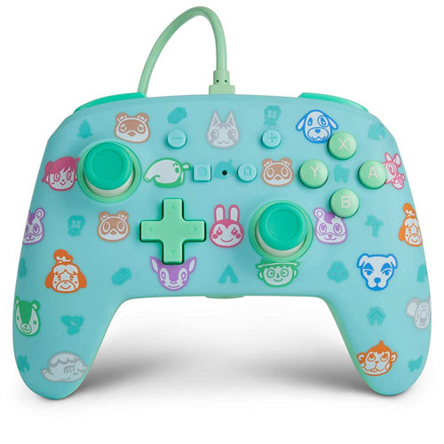 PowerA - Wired Controller - Animal Crossing [Nintendo Switch]