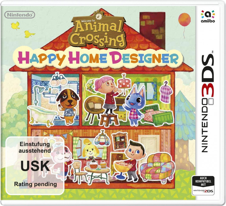Animal Crossing: Happy Home Designer [N3DS]