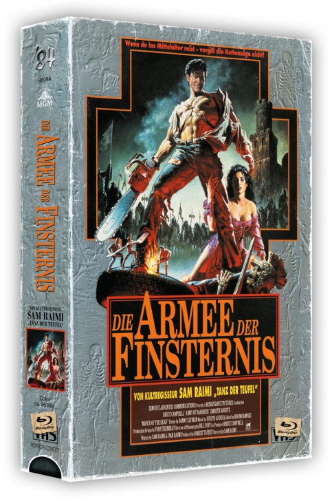 Die Armee der Finsternis - Retro Edition im VHS-Look - Cover A [Blu-ray+DVD]