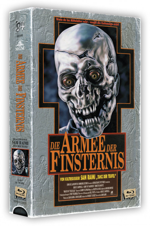 Die Armee der Finsternis - Retro Edition im VHS-Look - Cover B [Blu-ray+DVD]