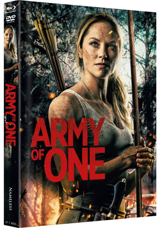 Army of One - Limited Mediabook - Cover A [Blu-ray+DVD]