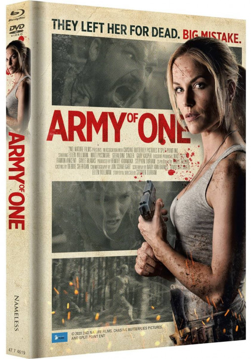 Army of One - Limited Mediabook - Cover B [Blu-ray+DVD]