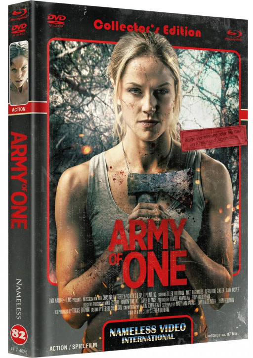 Army of One - Limited Mediabook - Cover C [Blu-ray+DVD]