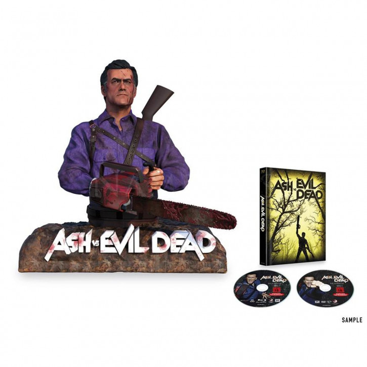 Ash vs Evil Dead - Special Edition inkl. Ash Büste [Blu-ray]
