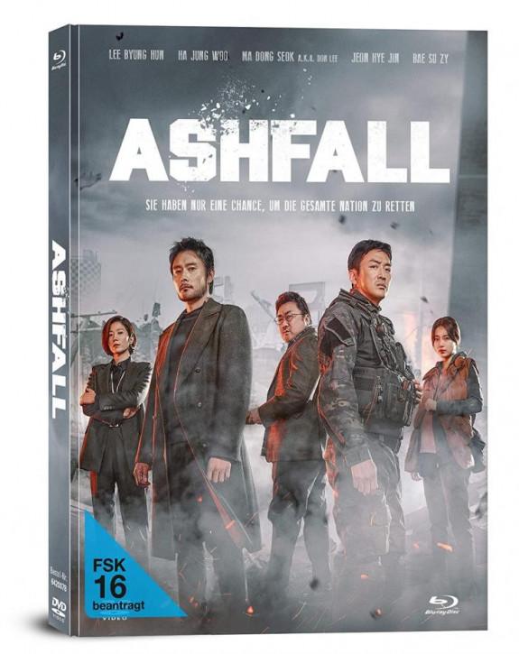 Ashfall -  Limited Mediabook [Blu-ray+DVD]