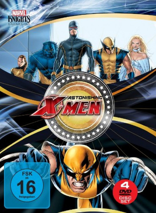 Astonishing X-Men Box (OmU) [DVD]