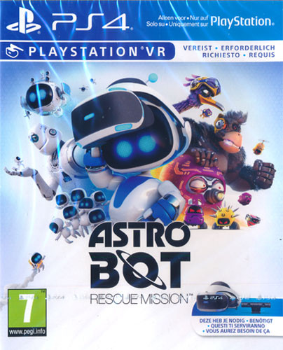 Astro Bot Rescue Mission VR [PS4]
