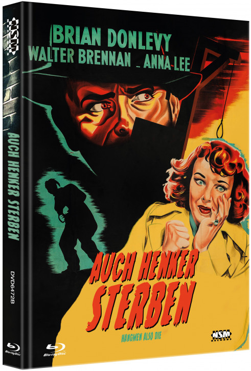 Auch Henker Sterben - Limited Collector's Edition - Cover B [Blu-ray+DVD]