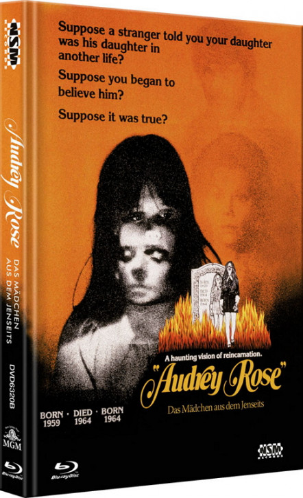 Audrey Rose - Limited Collector's Edition - Cover B [Bluray+DVD]