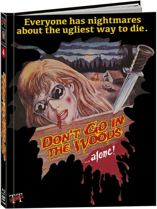 Don't Go In The Woods Alone - Limited Mediabook Edition - Cover A [Blu-ray+DVD]
